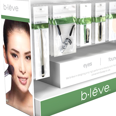 B•Leve Counter DisplayEconomy engagement